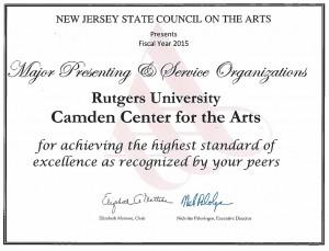 RCCA Award